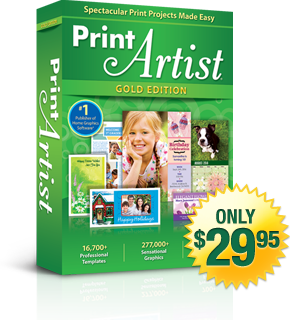 Print Artist 25 Gold Edition | Only $29.95