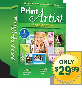 Print Artist Platinum 25 New